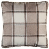 Tartan Cushion Covers 2pk - Natural