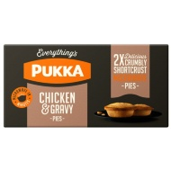 Pukka Chicken & Gravy Pies 2pk