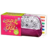 Colour Your Own Pencil Case