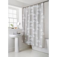 Character Shower Curtain - Clouds