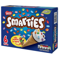 Smarties Ice Cream Cones 6pk