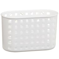 Deep Plastic Suction Caddy - White