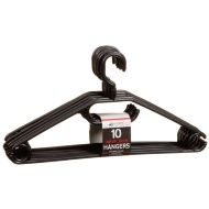 Swivel Hook Hangers 10pk - Black