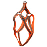 Reflective Dog Harness - Orange