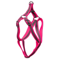 Reflective Dog Harness - Pink