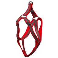 Reflective Dog Harness - Red