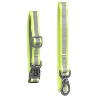 Reflective Collar & Lead Set - Yellow