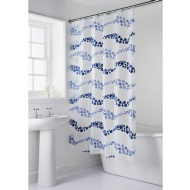 Shower Curtain & Mat Set 2pc - Bubbles