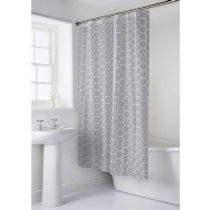 Shower Curtain & Mat Set 2pc - Geo