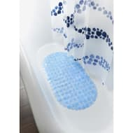 Shower Curtain & Mat Set 2pc - Pebbles