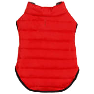 Dog Puffer Coat - X-Small - Medium - Red