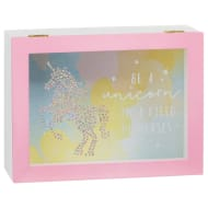 Decorative Unicorn Wooden Box - Be a Unicorn