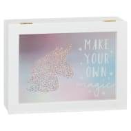Decorative Unicorn Wooden Box - Make Your Own Magic