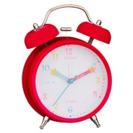 Learn to Tell the Time Alarm Clock - Pink