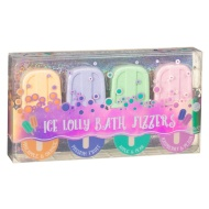 Ice Lolly Bath Fizzers 4pk