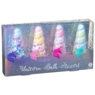 Unicorn Bath Fizzers 4pk