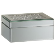 Karina Bailey Loose Diamond Top Mirror Box