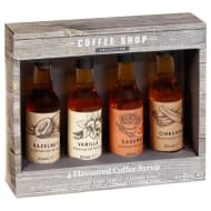 Coffee Shop Collection Coffee Syrups 4pk