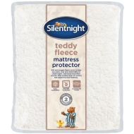 Silentnight Teddy Fleece Mattress Protector - King
