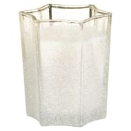 Sparkle Glitter Candle - White