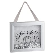 Sequin Box Plaque - Sparkle Everyday