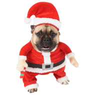Funny Santa Arms Christmas Dog Outfit - Small - Large