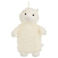 Llama Hot Water Bottle - White
