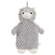 Llama Hot Water Bottle - Grey