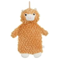 Llama Hot Water Bottle - Orange