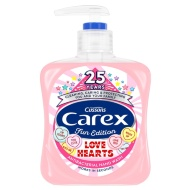 Carex Fun Edition Hand Wash 250ml - Love Hearts