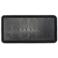 Multi-Purpose Heavy Duty Boot Tray - Shoe Print