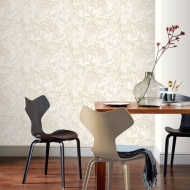 Arthouse Liquid Marble Wallpaper - Cream