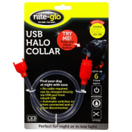 USB Halo LED Dog Collar