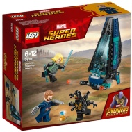 Lego Marvel Super Heroes Outrider Dropship Attack
