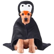 Christmas Dog Bath Hoodie - Penguin