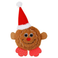 Mini Christmas Pals Dog Toy - Gingerbread