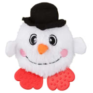 Mini Christmas Pals Dog Toy - Snowman