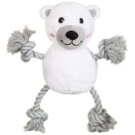 Christmas Rope Character Dog Toy - Polar Bear