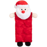 Christmas Character Squeaker Dog Toy - Santa