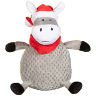 Christmas Chubby Dog Toy - Donkey