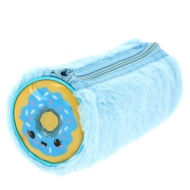 Sweet Stuff Fluffy Pencil Case - Blue