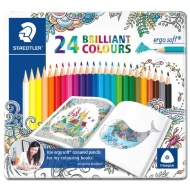 Staedtler Brilliant Colour Pencils 24pk