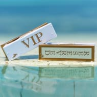Logo Peg Beach Towel Clips 2pk - VIP Reserved