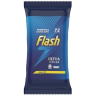 Flash Ultra Power Cleaning Wipes 72pk