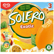 Solero Exotic Ice Creams 3pk