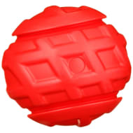 Durable Chunky Ball Dog Toy - Red