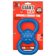 Durable Chunky Tug Dog Toy - Blue