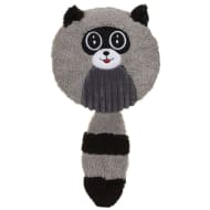 Crazy Critter Squeaking Raccoon Dog Toy