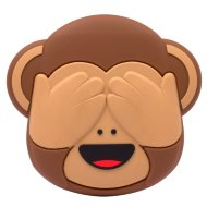Byte Emoji Power Bank - Monkey
