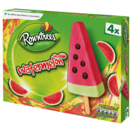 Rowntree's Watermelon Ice Lollies 4pk